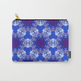 Abstract rippled glossy Carry-All Pouch