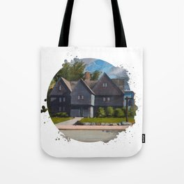 The Witch House by Kevin Kusiolek Tote Bag