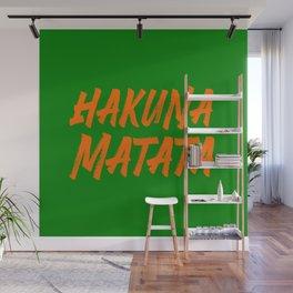 Hakuna matata wonderful saying Wall Mural