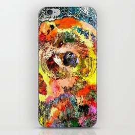 Grizzly Grunge iPhone Skin