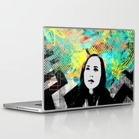 inception Laptop & iPad Skins featuring Ellen Page Inception Print by mikailah.clark