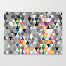 Many colors of being Canvas Print