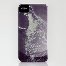 Abstract Wolf iPhone (4, 4s) Slim Case