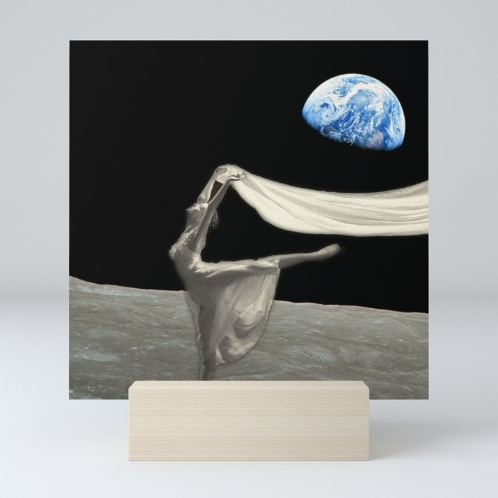 Dance like no one is watching Mini Art Print