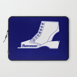 Borosana Borovo -  white nostalgic ortopedic shoe from Yugoslavia Laptop Sleeve