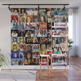 ABBA celebration all over print Wall Mural