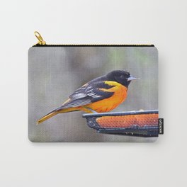 Oranges for the Oriole Carry-All Pouch