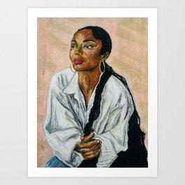 Helen Folasade Adu/Sade Art Print