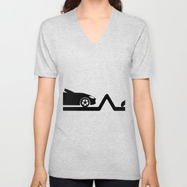 Heartbeat Volleyball and Convertible | Pulse Unisex V-Neck