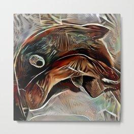Brown Fish Metal Print