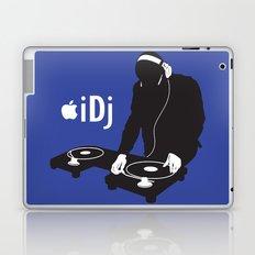 I DJ (Blue) Laptop & iPad Skin