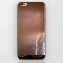 Electrified iPhone Skin