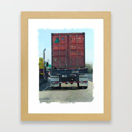 Daily Truck: 08/26/15 Framed Art Print