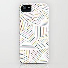 Ab Linear Rainbowz iPhone Case