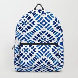 Shibori Watercolour no.7 Backpack
