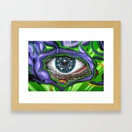 Blue Iris  Framed Art Print