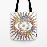 prism Tote Bags featuring PRISM by shutupbek