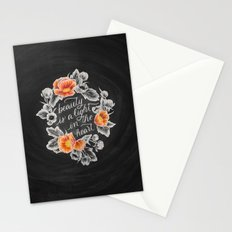 Beauty is a Light in the Heart Stationery Cards
