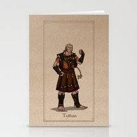 valar morghulis Stationery Cards featuring Tulkas by wolfanita