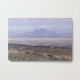 Desert Town Metal Print