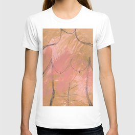 Nude Abstract Couple: His T-shirt