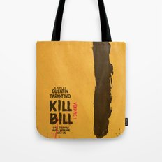 Kill Bill, Tarantino Movie Poster, Alternative, Minimal, Fine Art, Uma Thurman Tote Bag