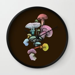 Shrooms Wall Clock