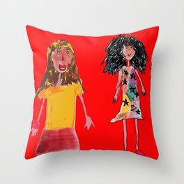 Lia Liana Throw Pillow