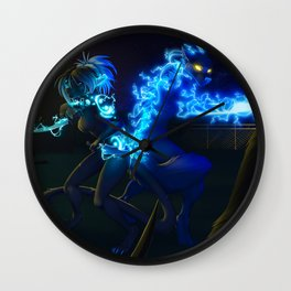 get out alive Wall Clock