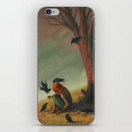 The Seven Ravens iPhone Skin