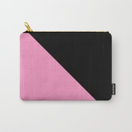 Just two colors 1: pink and black Carry-All Pouch
