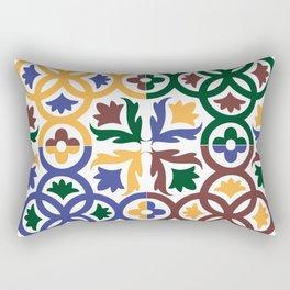 Andalusian Tiles 3 Rectangular Pillow