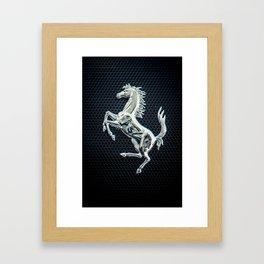 Itallian Stallion Framed Art Print