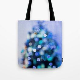 So this is Christmas in blue Tote Bag