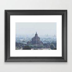 Bagan II Framed Art Print