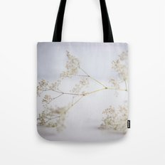 Soft flowers Tote Bag