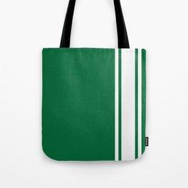 Green Racer Tote Bag