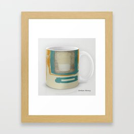 Soft And Bold Rothko Inspired Modern Art Coffee Mug Large Framed Art Print