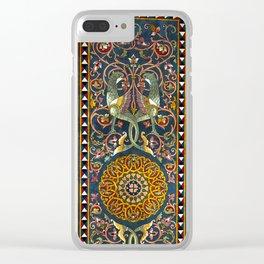 Sicilian ART NOUVEAU Clear iPhone Case