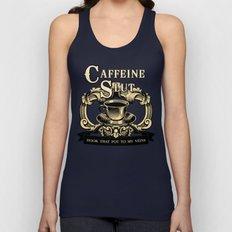 Coffee Homage Unisex Tank Top