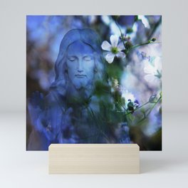 Jesus Christ In The Garden By Annie Zeno Mini Art Print