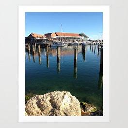 Boat Harbour Art Print