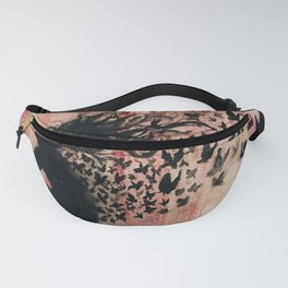 Fading Away (pink) Fanny Pack