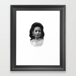Secret Keeper Framed Art Print