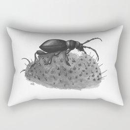 Inktobober 2016: Cactus Longhorn Beetle Rectangular Pillow
