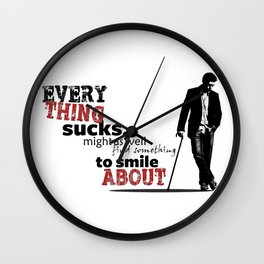Everything sucks Wall Clock