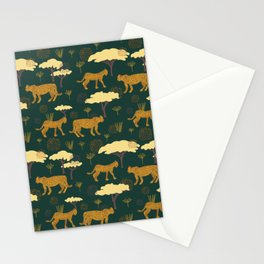 Leopards on the Prowl Stationery Cards