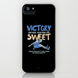 Victory Never Tasted So Sweet For Triple Jump iPhone Case