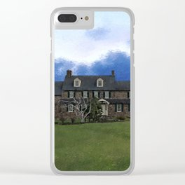 Pearl S. Buck House Clear iPhone Case