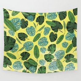 Tropical Plants Wall Tapestry